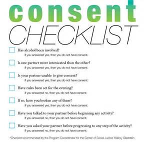 consent checklist world s largest collection of essays