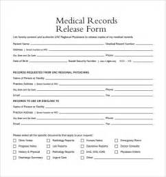 sle records release form 9 free