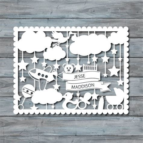 paper cut templates baby paper cut template pdf printable paper cutting