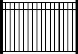 Decorative Wrought Iron Fence Panels Telluride Wrought Iron Fence Panel Telluride Finial