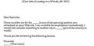 fill in the blank cover letters resume websites