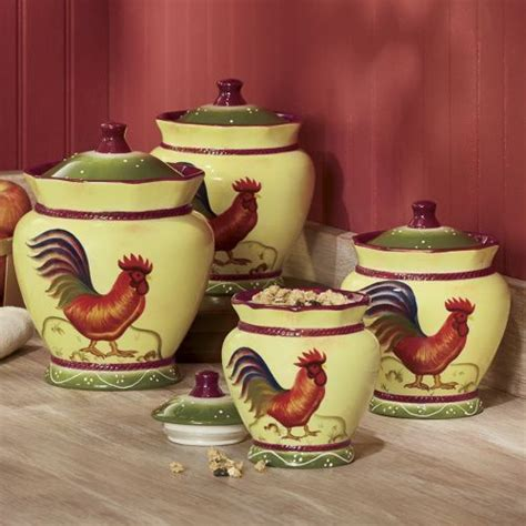 rooster kitchen canister sets 17 best images about roosters hens chickens on ceramics cookie jars and salt