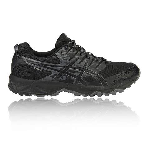 Asic Tex asics gel sonoma 3 mens black tex waterproof trail running shoes ebay