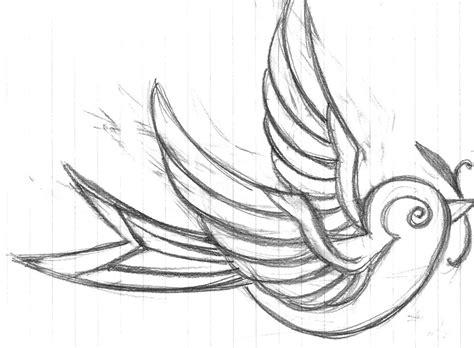 simple tattoo flash birds tattoos for you sparrow flash