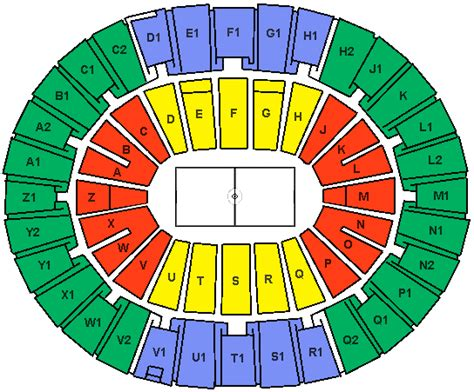 fargo arena seating diagram arizona state sun devils tickets december 21 2013 at 4 30