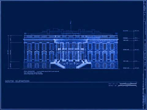 Blue Print House White House Museum