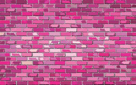 pink brick wall pink brick wall stock vector 169 dusica69 119789676