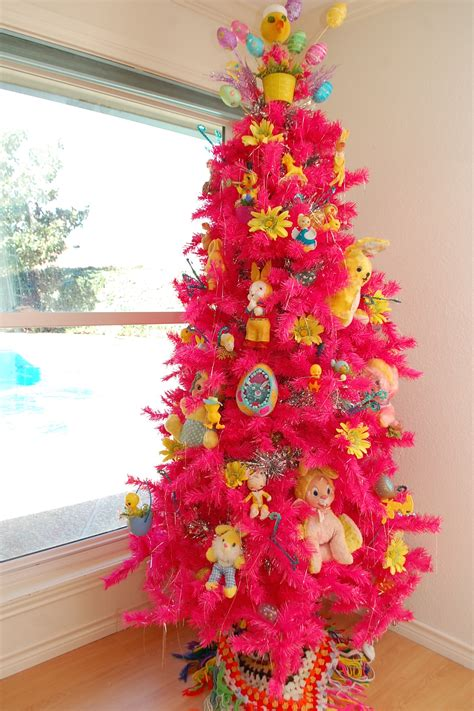 blonde vintage christmas tree treetopia displaying your vintage holiday collectibles on a tree