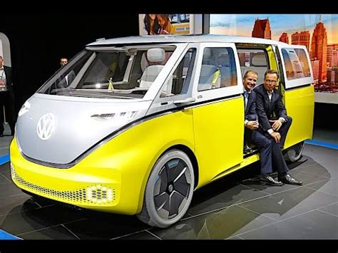 Volkswagen Buzz 2020 by Vw Id Buzz Review 2018 Vw Cervan 2018 Electric Vw Id