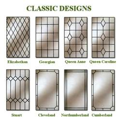 Andersen Bow Windows leaded glass double glazed units west berkshire