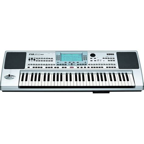 disc korg pa50sd professional arranger keyboard at