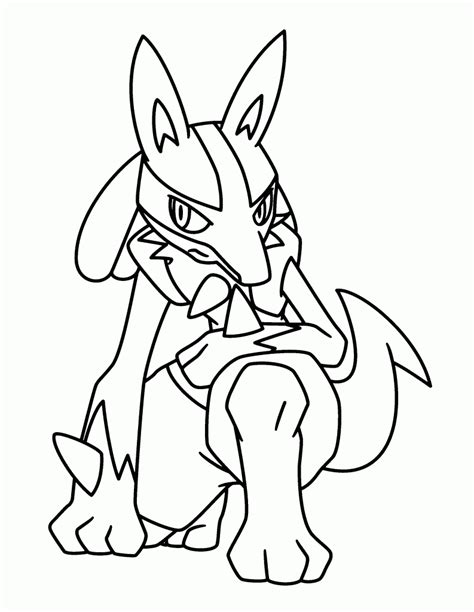 pokemon coloring pages lucario pokemon coloring pages join your favorite pokemon on an