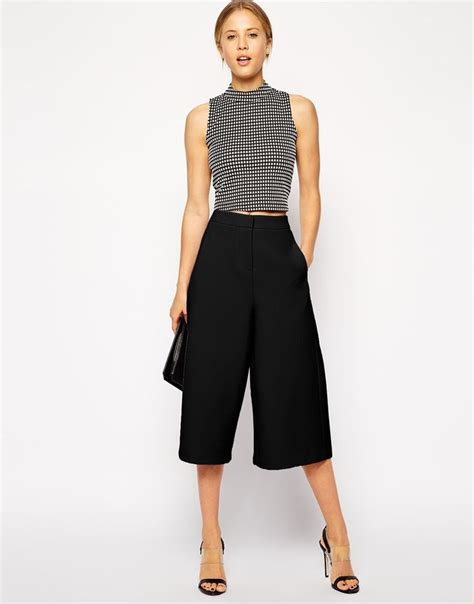 Premium Cropped Cullotes Medina Fashion 35 best images about fashion culotte trousers on gaucho trousers and