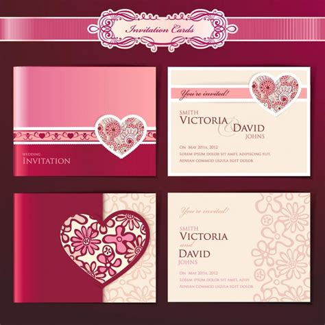 designs of wedding invitation cards templates wedding invitation design templates wedding and bridal