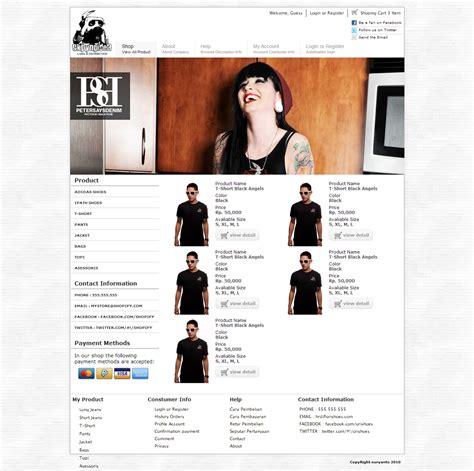download template toko online php template toko online gratis part ii nuryanto