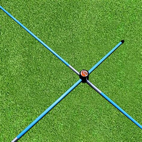 plane stick swing trainer the elixir golf swing plane trainer and alignment sticks