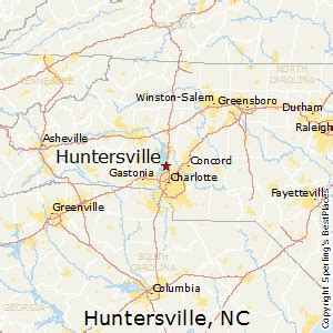 huntersville carolina map best places to live in huntersville carolina