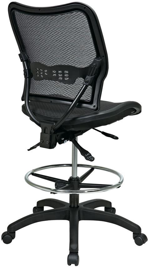 comfortable drafting chair 13 77n30d office star space air grid ergonomic drafting