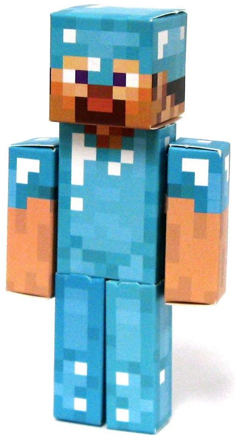 Papercraft Minecraft Steve - minecraft steve papercraft on sale at toywiz
