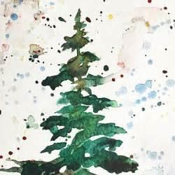 watercolor splash tutorial you can paint this beautiful watercolor christmas tree