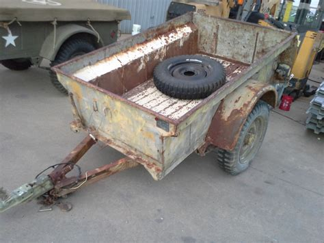 Ww2 Jeep Trailer For Sale Mb T Jeep Trailers