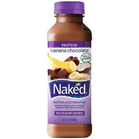 protein juice drink banana chocolate protein juice smoothie 15 2 fl oz