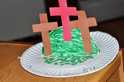 Paper Plate Crafts For Sunday School - paper plate friday easter craft sunday school vbs