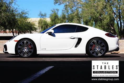 porsche cayman 2015 white fs 2015 cayman gts white black 6 speed rennlist