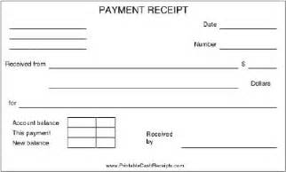 Retail Receipt Template A Basic Payment Receipt To Be Used By A Retail Store Or