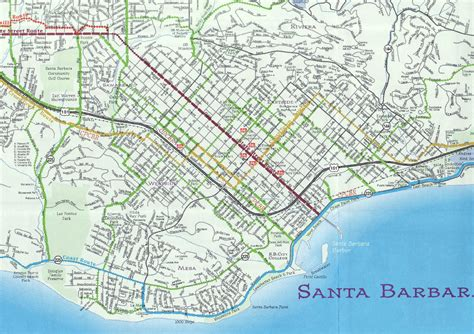 california map near santa barbara santa barbara map world map dictionary
