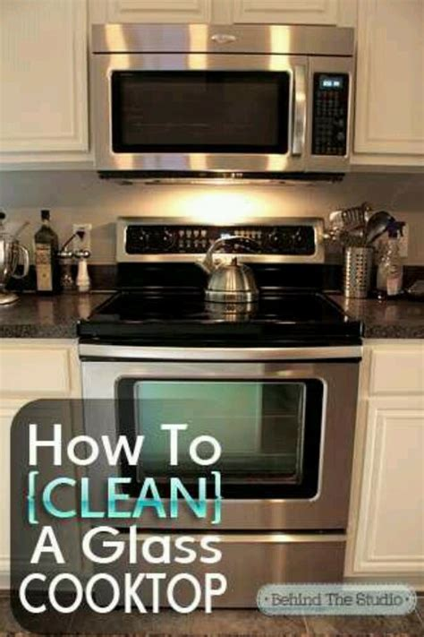 What To Clean Glass Cooktop With cleaning a glass cooktop how to