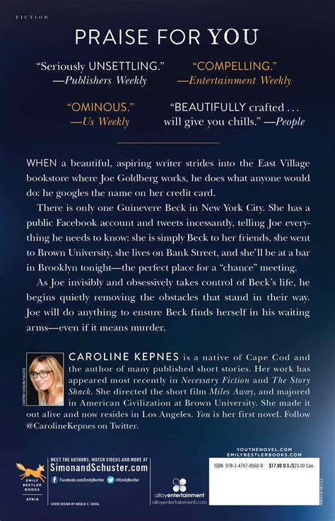 the light between oceans free ebook you book by caroline kepnes official publisher page