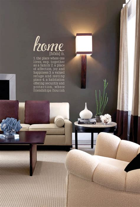 define livingroom the definition of home removable vinyl wall art home wall