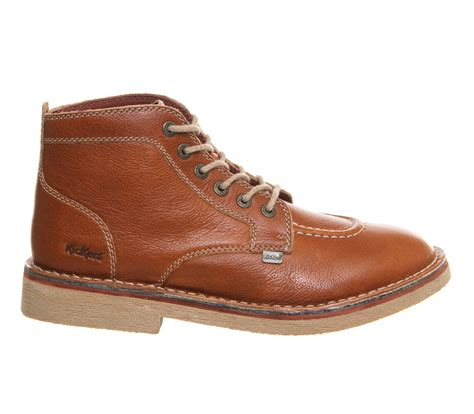 kickers legendary boots in brown for lyst