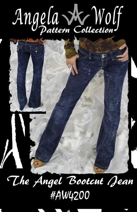 angela wolf jeans pattern review angela wolf 4200 the angel bootcut jean