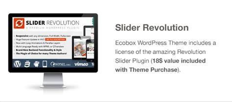 generator theme slider ecobox responsive wordpress theme wordpress themeforest