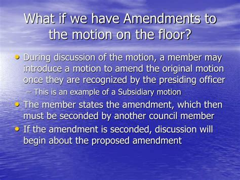 Motion On The Floor by Ppt Of Order A Primer Powerpoint