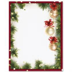 Page border clip art christmas themed frame word frames and borders