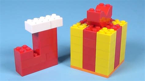 how to build lego christmas gift stocking 4630 lego