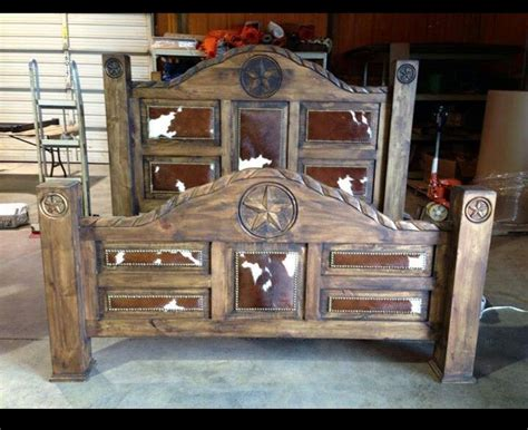 cowhide beds 25 best images about western bedroom furniture on