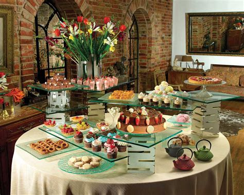 buffet displays riser systems for the ultimate buffet displays rosseto buffet tables and platters
