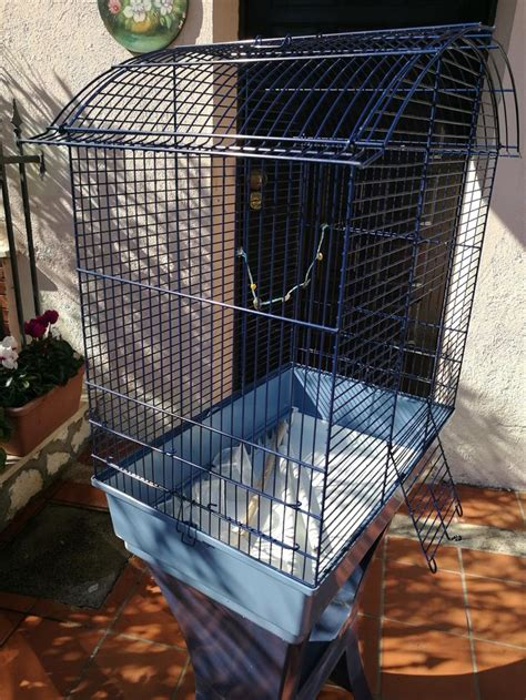 grande gabbia per uccelli gabbia grande per uccelli su secondamano it animali