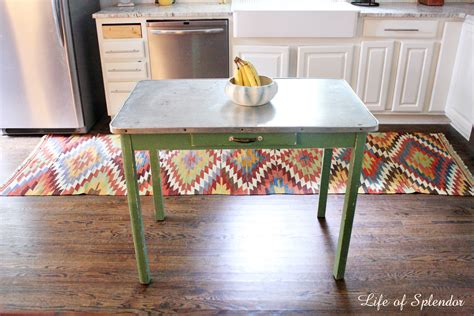 kitchen island farm table kitchen progress thewhitebuffalostylingco