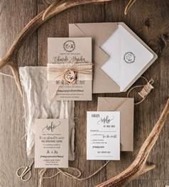 rustic wedding invitation set 20 craft wedding invitation suite burlap wedding invitation
