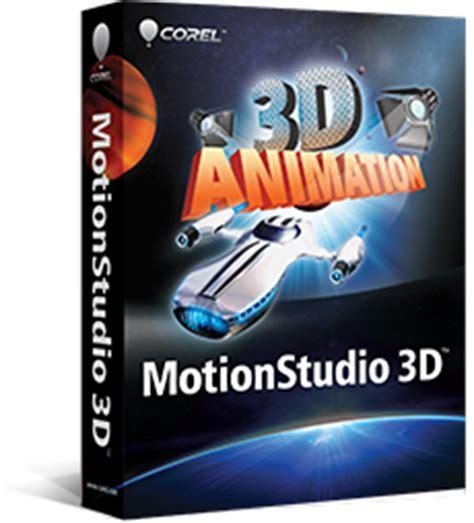 best motion graphics software 3d animation software corel motionstudio 3d