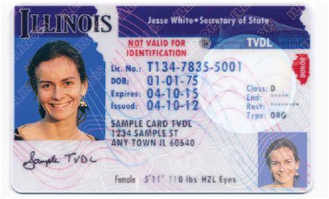 Illinois Drivers License Documents