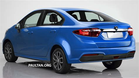 Proton Persona by Rendered Proton Persona Sedan Based On Iriz