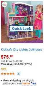 city lights doll house kid craft city lights dollhouse 44 97 off only 75