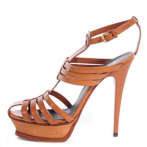 ysl sandals ysl yves laurent leather tribute 105 woodstock