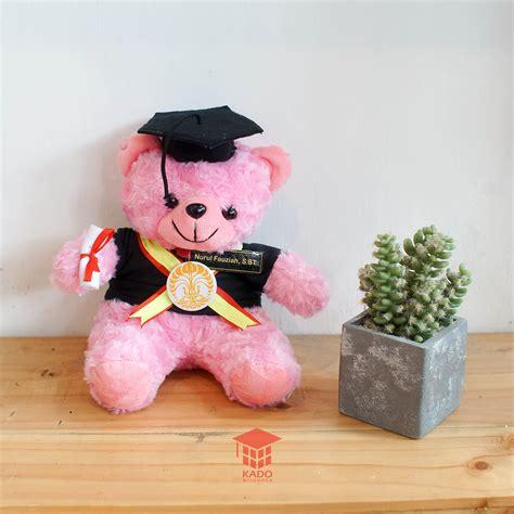 Jual Boneka Wisuda Teddy toko boneka wisuda teddy pink 75rb kado wisuda
